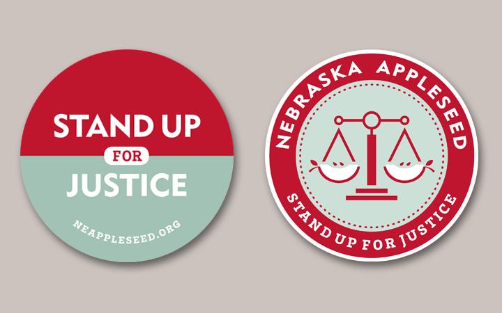 nebraska_appleseed_nonprofit_social-activism_justice_3_stickers_round